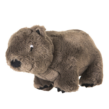 Plush Toy: Wobble E. Wombat