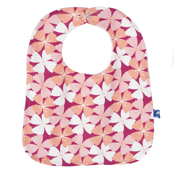 Single Bib in Apple Blossom
