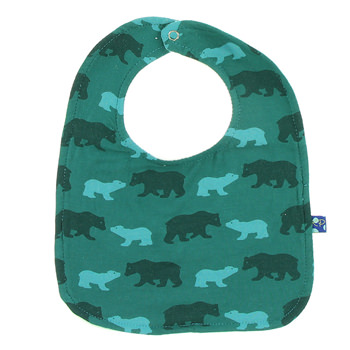 Single Bib in Cedar Brown Bear