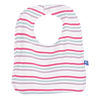 Single Bib in Fairytale Stripe