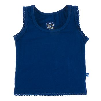 Solid Undershirt Tank in Flag Blue