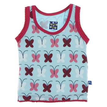 Print Undershirt Tank in Tallulah's Butterfly