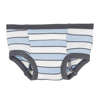 Training Pant in Boy Musical Stripe