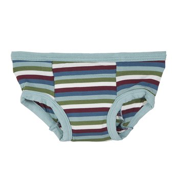 Training Pant in Boy Space Stripe with Jade Trim