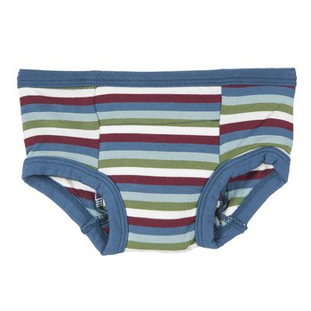 Training Pant in Boy Space Stripe with Twilight Trim