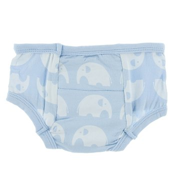 Training Pant in Pond Elephant with Pond Trim