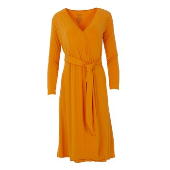 Solid Basic Robe in Apricot