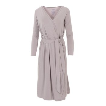 Solid Basic Robe in Feather