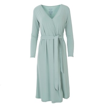 Solid Basic Robe in Jade