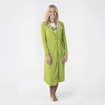 Solid Basic Robe in Meadow