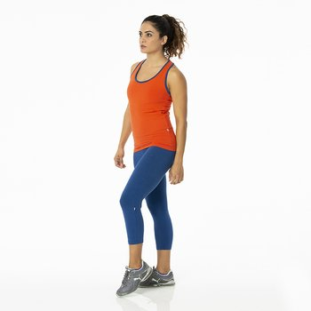 Solid Women's Performance 3/4 Legging in Navy