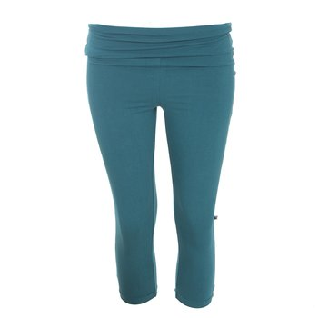 Solid Women's Luxe 3/4 Leggings in Oasis