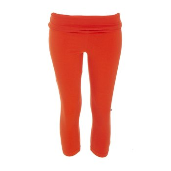 Solid Women's Performance 3/4 Legging in Poppy