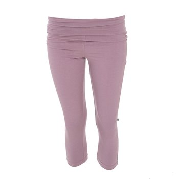 Solid Women's Performance 3/4 Legging in Raisin