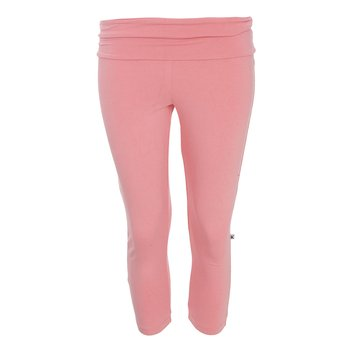 Solid Women's Performance 3/4 Legging in Strawberry