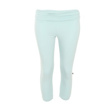 Solid Women's Performance 3/4 Legging in Spring Sky