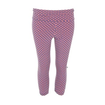 Print Women's Performance 3/4 Legging in Desert Rose Taj Mahal