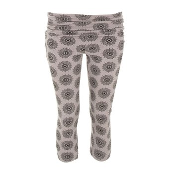 Print Women's Performance 3/4 Legging in Feather Mandala