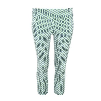 Print Women's Performance 3/4 Legging in Pistachio Taj Mahal