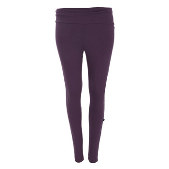 Solid Women's Performance Legging in Fig