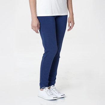 Solid Women's Performance Legging in Flag Blue
