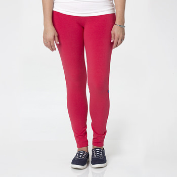 Solid Women's Luxe Leggings in Flag Red