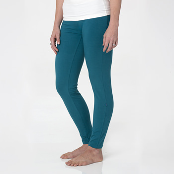 Solid Women's Performance Legging in Heritage Blue