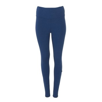 Solid Women's Performance Legging in Navy