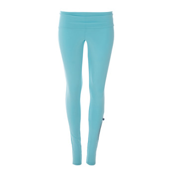 Solid Women's Performance Legging in Shining Sea