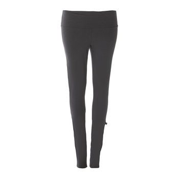 Solid Women's Performance Legging in Stone