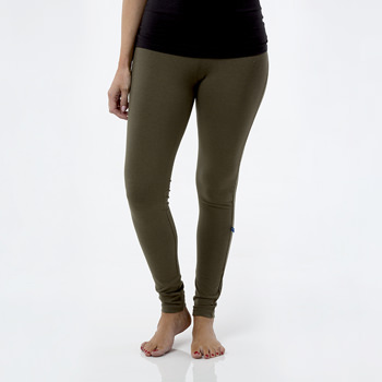 Solid Women's Performance Legging in Succulent