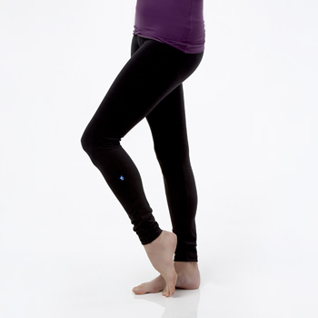 Solid Women's Performance Legging in Zebra