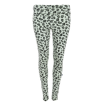 Print Women's Performance Legging in Aloe Cheetah Print