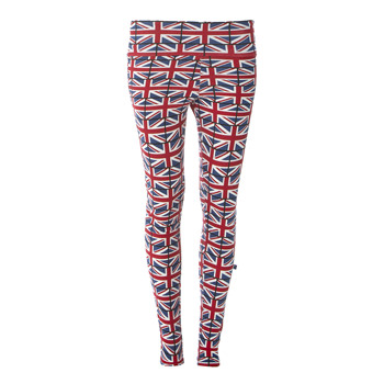 Print Women's Performance Legging in Union Jack