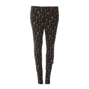 Print Women's Luxe Leggings in Victorian Keys