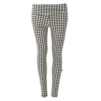 Print Women's Performance Legging in Zebra Houndstooth