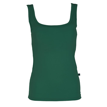Solid Cami with Bra in Shady Glade