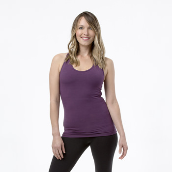 Solid Women's Performance Jersey Tank in Fig