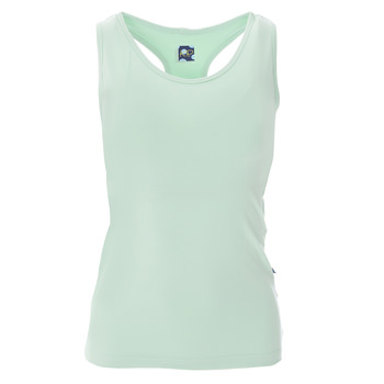 Solid Women's Luxe Tank in Pistachio