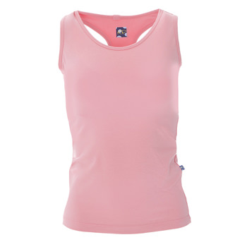Solid Women's Performance Jersey Tank in Strawberry