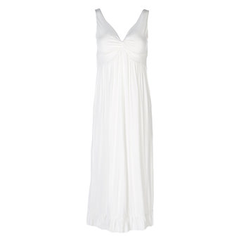Solid Twist Nightgown in Natural