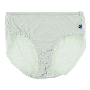 Solid Women's Classic Brief in Aloe