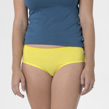 Solid Women's Classic Brief in Banana