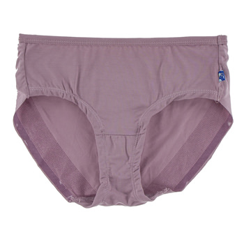 Solid Women's Classic Brief in Elderberry