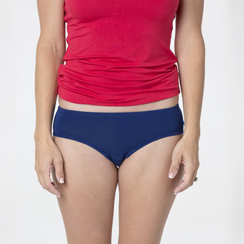 Solid Women's Classic Brief in Flag Blue