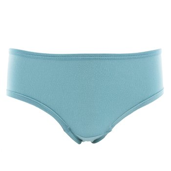 Solid Women's Classic Brief in Glacier