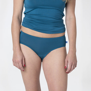 Solid Women's Classic Brief in Heritage Blue
