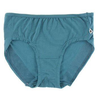 Solid Women's Classic Brief in Seagrass