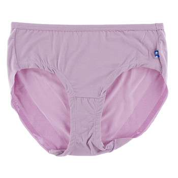 Solid Women's Classic Brief in Sweet Pea