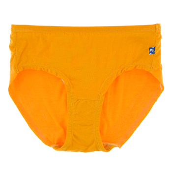 Solid Women's Classic Brief in Tamarin